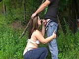 Amateur girls give blowjob