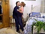 Busty BBW Mom Gets Stretched On A Bed
