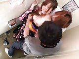 Groped and fucked on public toilet