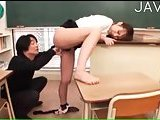 Dirty teacher banged hard