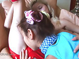 Love and italian licking between teens