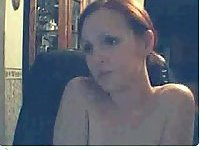 Dirty bitch strips for webcam
