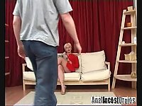 Hot mommy adores her anal drilling