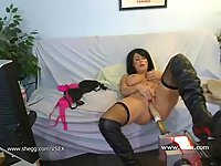 Big tits girl fucked live on cam