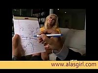 Shyla Stylez gets her anus licked