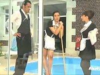 Lewd Maid Gets Laid