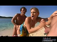 Katy Caro loves fucking on the beach