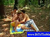 Girl and two hot bisexual guys fucking
