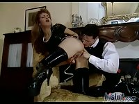 Wild Judith was aching for a good fuck