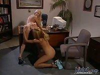 Lesbian oral pleasure