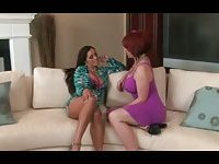 Lesbian Milf Fucking With Passion