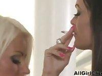 Charley Atwell Smoking Lesbian