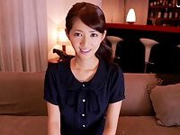 Japanese cutie gets toyed scene 1