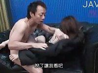 Japanese slut fucked & face cummed