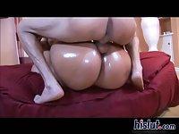 These sluts share a cock scene 202