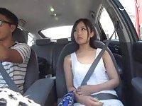 Hot Japanese Babe Gets Picked Up Outdoor