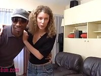 White Milf Gets Her Pussy Filled By A Black Dick