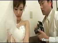 Amateur bride wedding first night scene 3