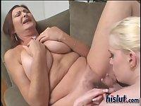 These sluts like licking