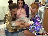 Hot lesbos fisted
