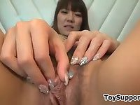 Kinky Asian Has Fun With Her Clit