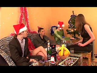 Group Sex Christmas Party