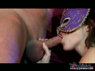 Allie Sin and Hillary Scott in fetish orgy