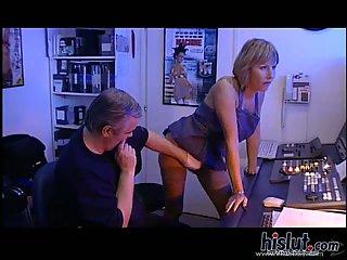Karina and Mandy share double penetration