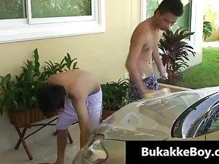 Car wash twinks gay fun