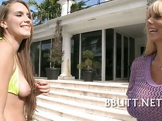 Sex with gorgeous booty sluts