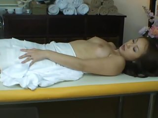 Wife reluctant orgasm during health massage