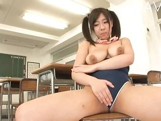 Busty japanese teasing in the classroom | Big Boobs Update