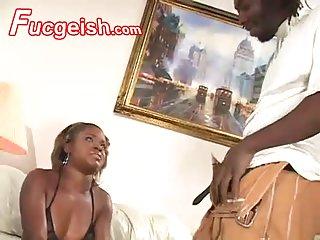 Black Beauty Teen Girl Did Sucking And Fucking